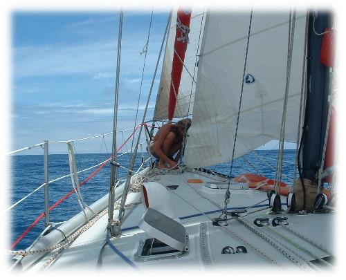 En route retour vers les Açores