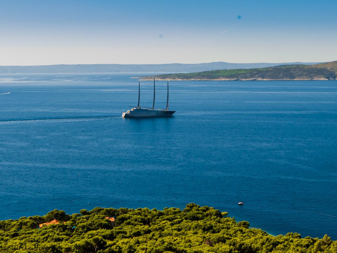 """Sy """"A"""" teuerstes Seegelschiff der Welt"""
