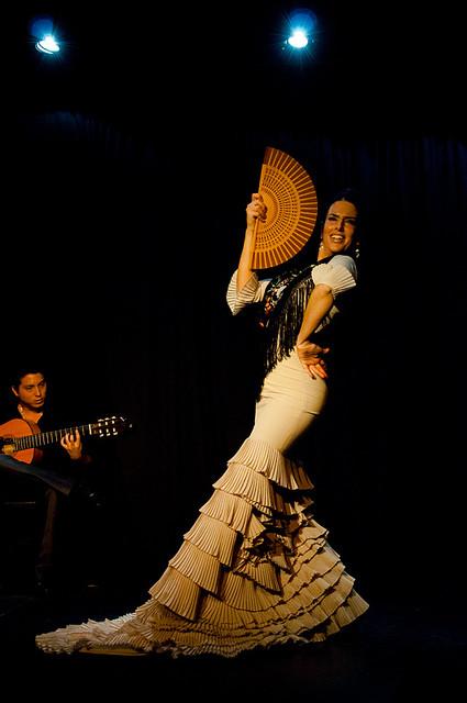Natalia Meiriño, bailaora flamenca