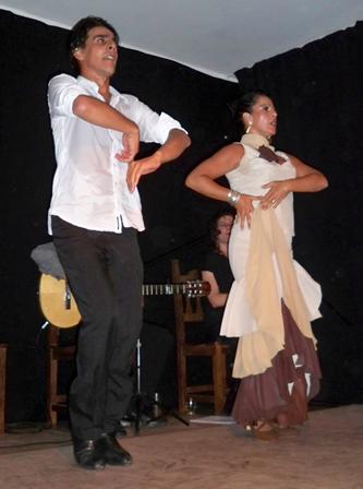 Jorgelina Amendolara y Claudio Arias, Flamenco-danza