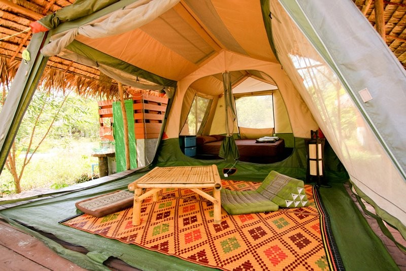 Tent bungalow fully furnished