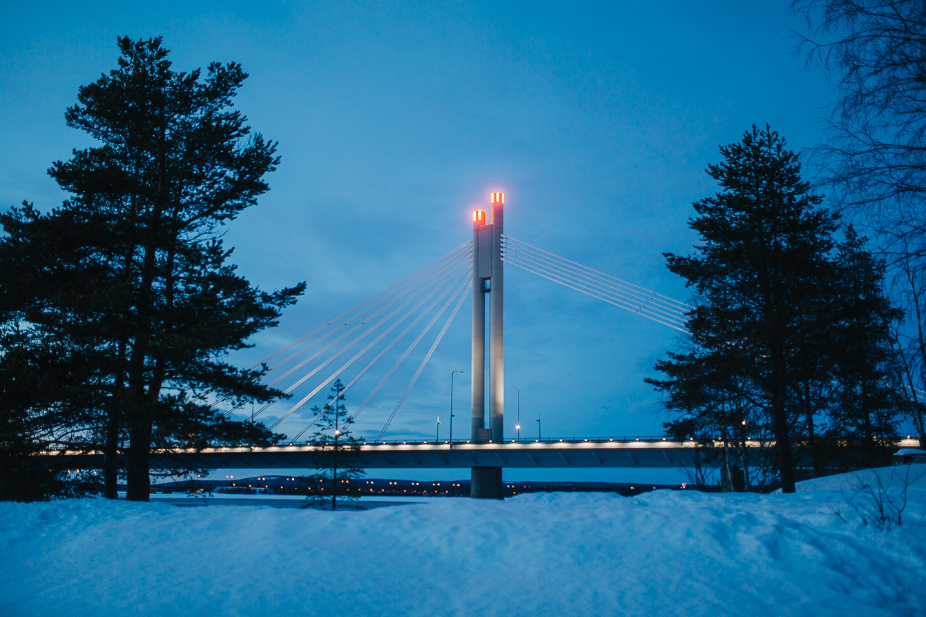 Jätkänkynttilä - Lumberjack Candle Bridge