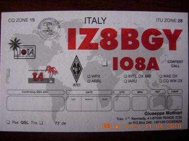 2°Qsl card dal 1998 al 200