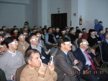 Durante la visione di BS7H in 3D