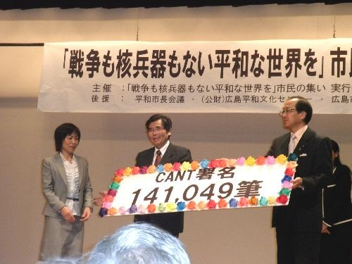 署名提出(CANT署名)