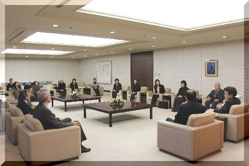 広島市役所 松井 一實広島市長 訪問