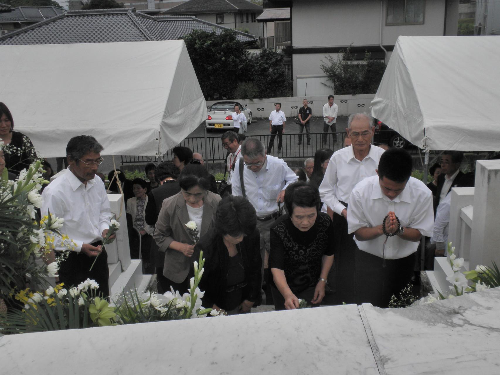「第40回山口原爆死没者追悼・平和式典」 第2部 献水