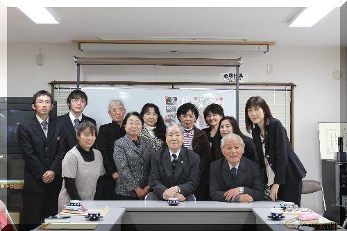 広島県原爆被害者団体協議会 坪井 直理事長を囲んで