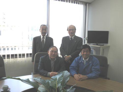 連合山口 東部地域協議会 訪問 高村事務局長へご挨拶