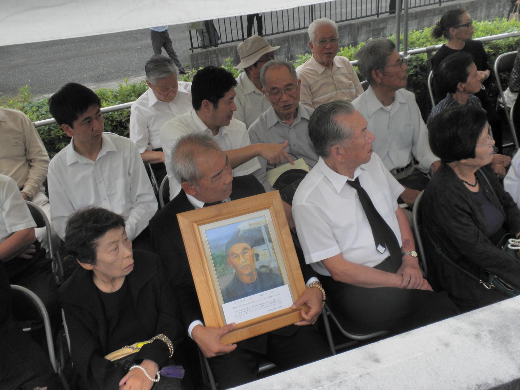 「第40回山口原爆死没者追悼・平和式典」 第2部 参列者