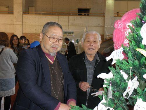 山口県被団協竹田会長と山口市原爆被害者の会田中会長も訪問