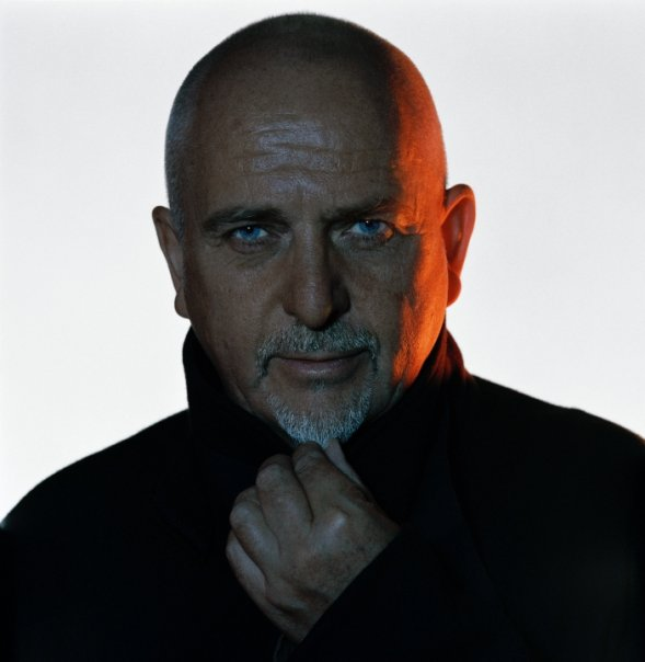 Ex-Genesis-Mitglied Peter Gabriel; Real World Studios