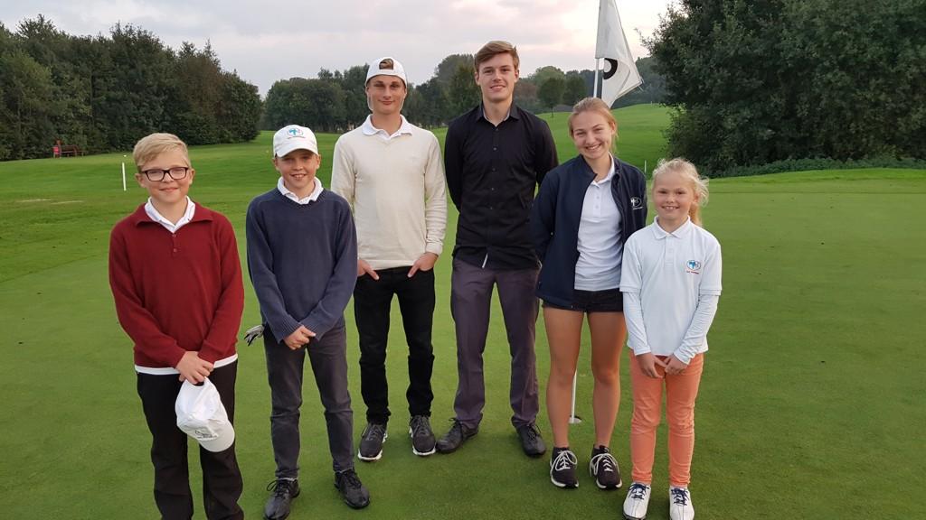 Unsere Mannschaft: Christian, Caspar, Nick, Julius, Lisa, Rieke
