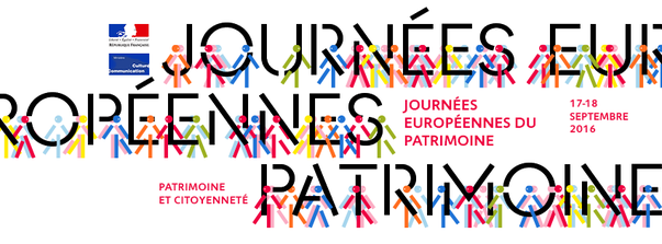 Journées Européenne du Patrimoine les 17 et 18 septembre 2016