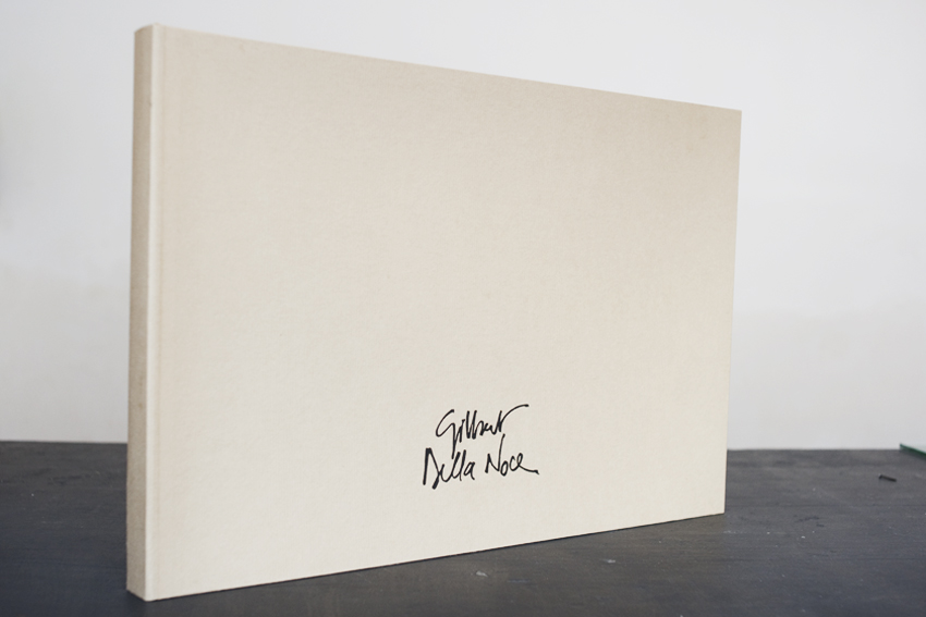 Portfolio pour Gilbert Della Noce, artiste-plasticien avec Jean-Marie Picard, graveur...