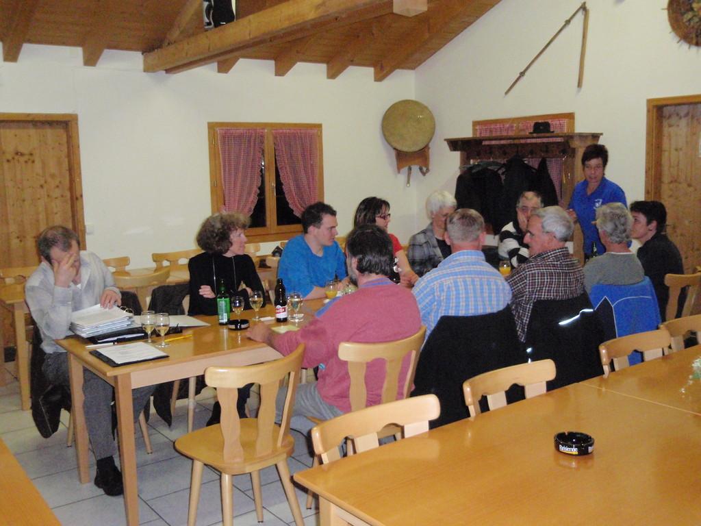 Die Mitglieder erleben eine zügig abgehaltene HV.
