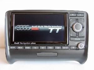 Audi tt navi plus