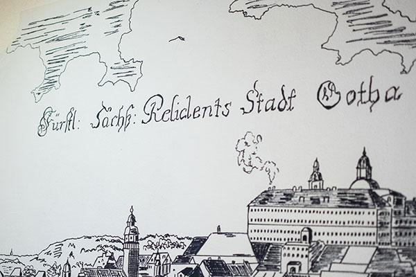 """Innenansicht - Pension """"Regina"""" in Gotha, Thüringen"""