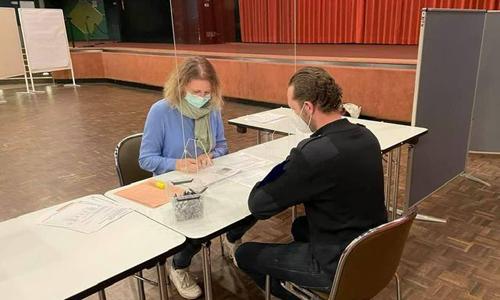 Stadthalle wird Impfstation
