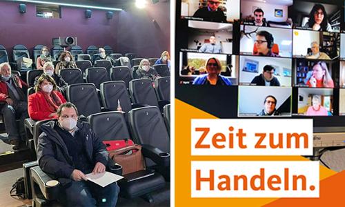 Haushaltsberatungen 2021 – heute mit der CDU und der SPD