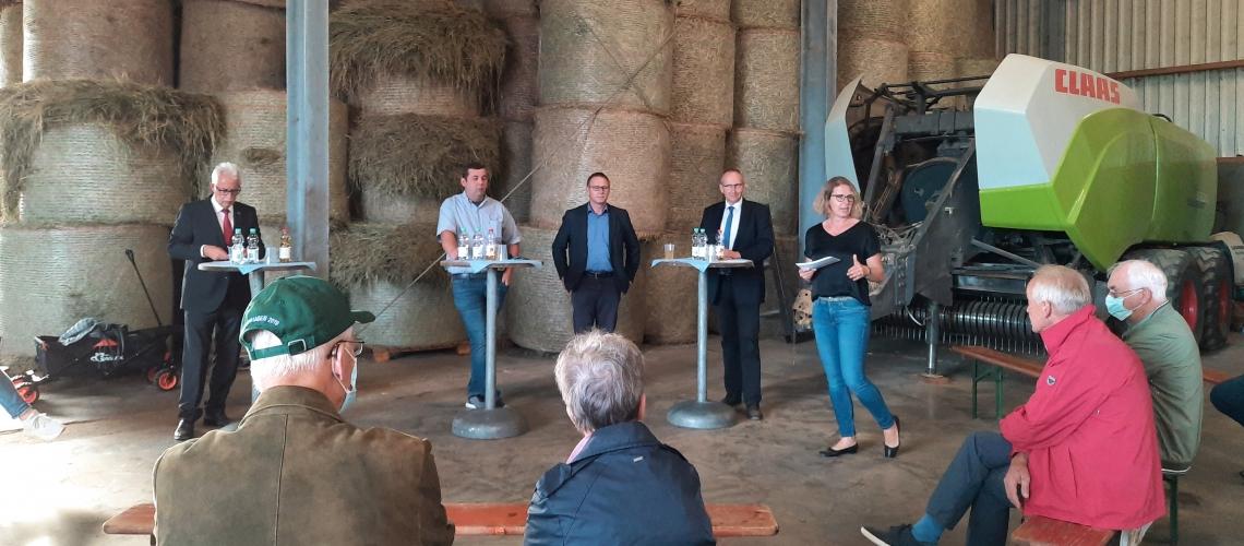 Pro Jahr 200 Hektar landwirtschaftliche Nutzfläche weniger im Kreis Mettmann
