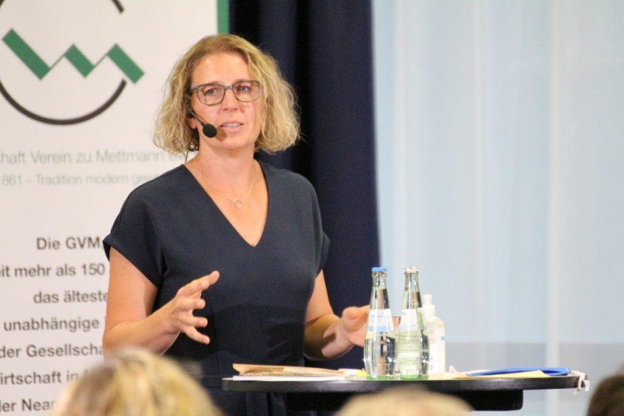 Bürgermeister-Kandidatin Sandra Pietschmann besucht offenen GVM-Stammtisch