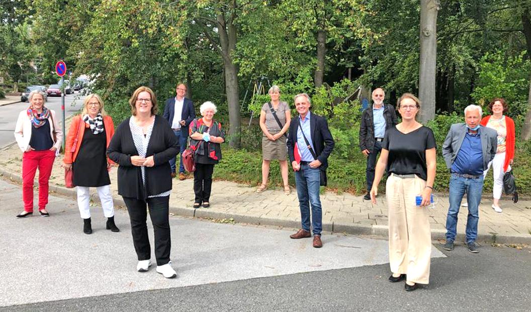 Kerstin Griese im Gespräch mit Sandra Pietschmann und den Sozialverbänden in Mettmann