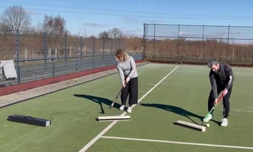 Rebounder für Spiel- und Trainingsspass mit Abstand