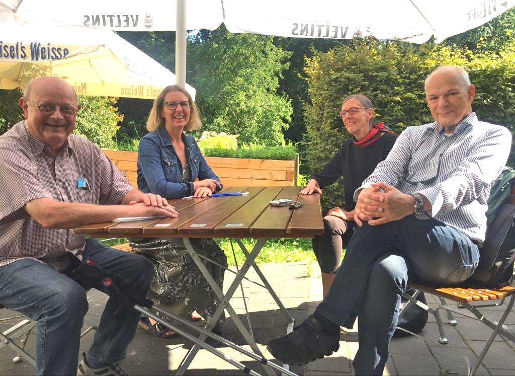 Treffen mit Vertretern der Initiative Goldberg