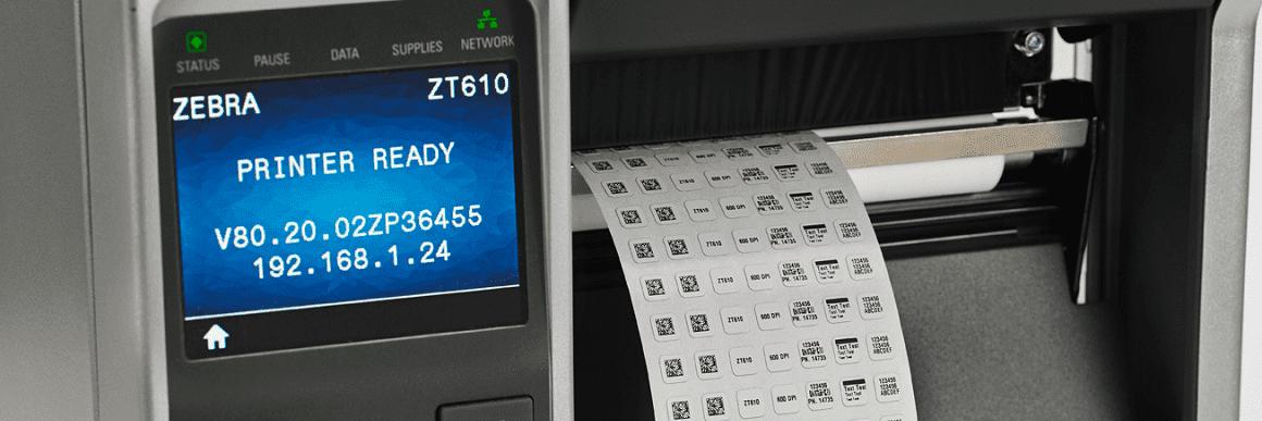 Zebra Etikettendrucksysteme bei RLS