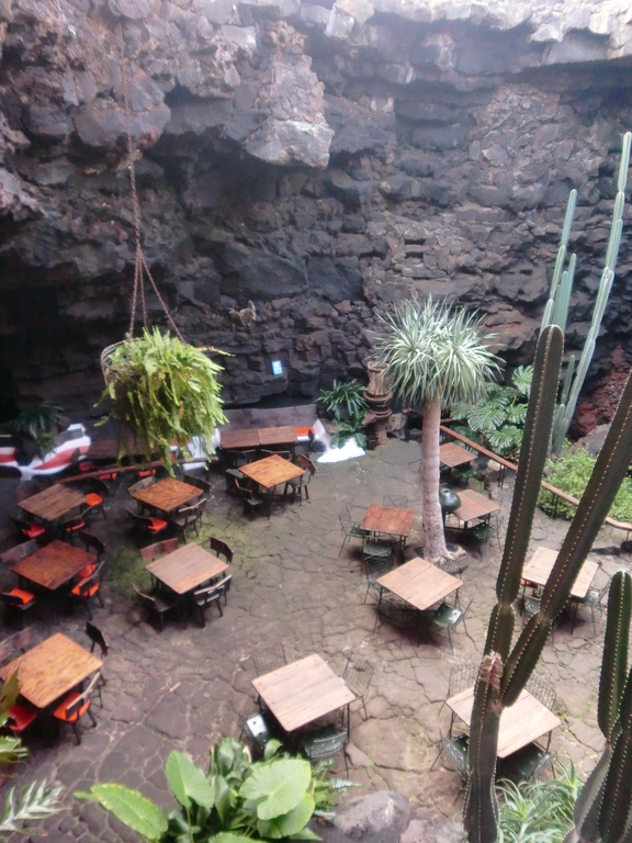 Restaurant in den Jameos del Agua