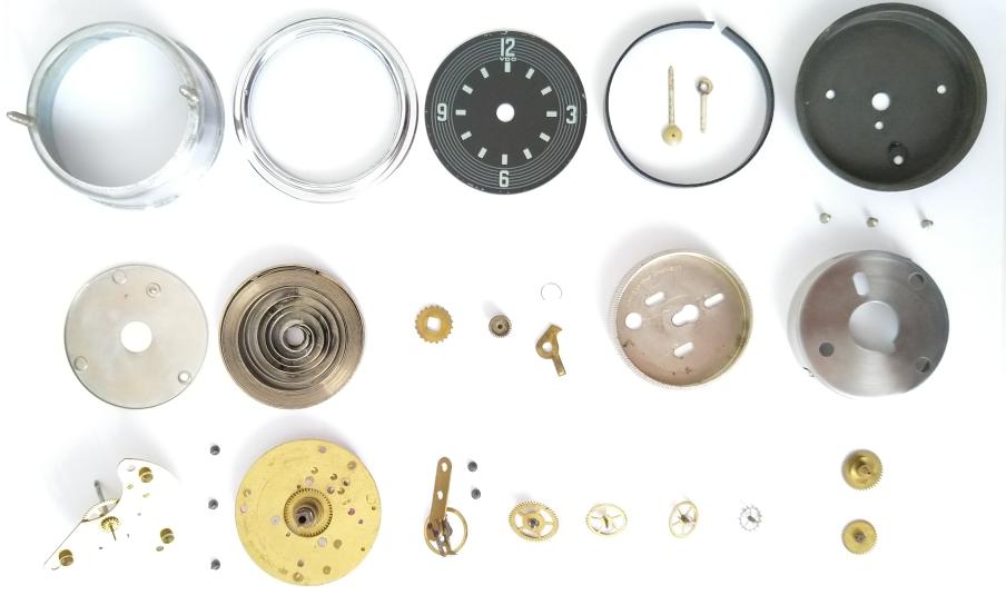 VW Käfer VDO 8 Tage Handaufzugs Uhr