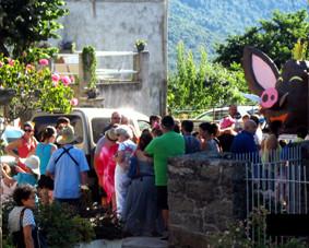 U CARNAVALUCCIU 2014 CAURO Corse du sud