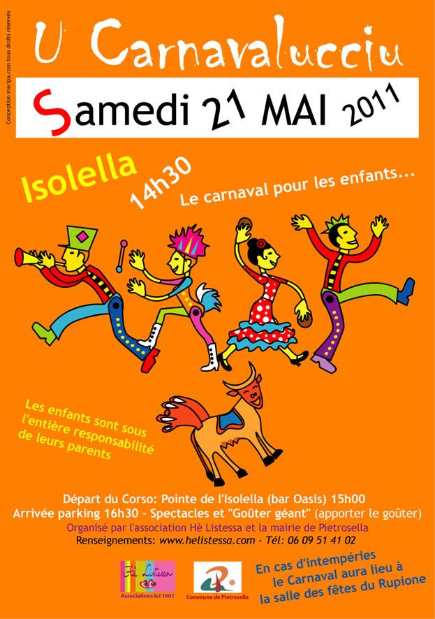 Carnavalucciu 2011 Hè LISTESSA