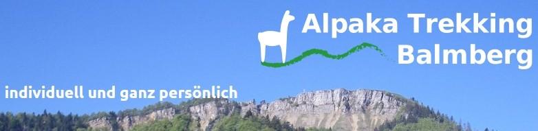 Alpakatrekking Balmberg mit Familie Bucheli