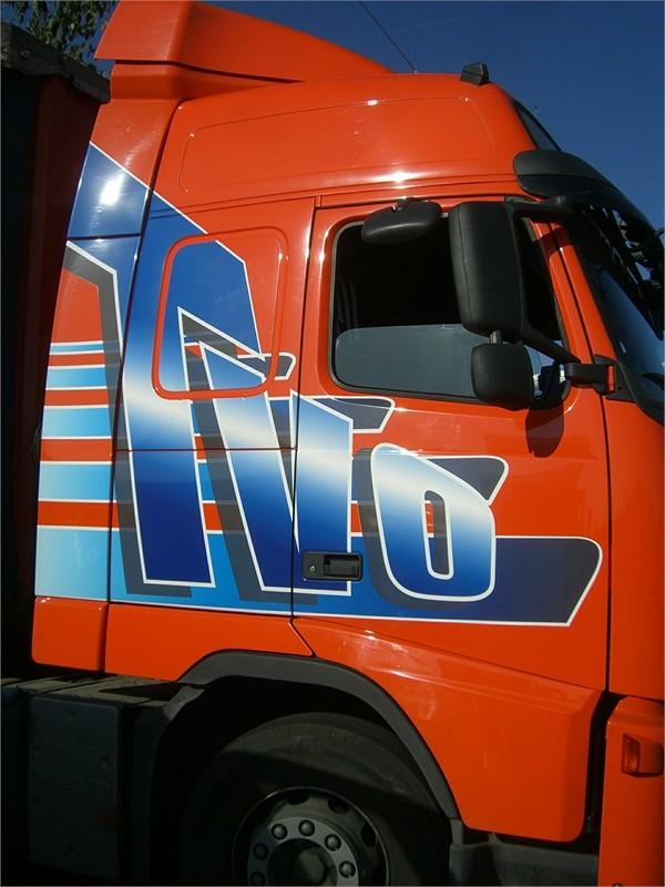 décor publicitaire camion impression numérique