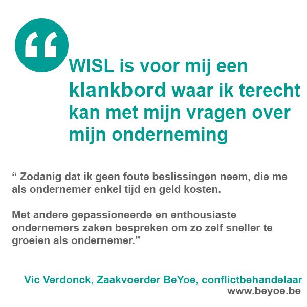 Vic Verdonck, Zaakvoerder BeYoe, conflictbehandelaar   www.beyoe.be