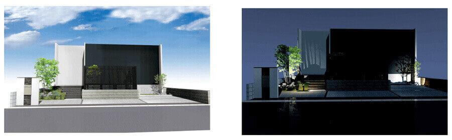 大阪府施工デザインパース画像