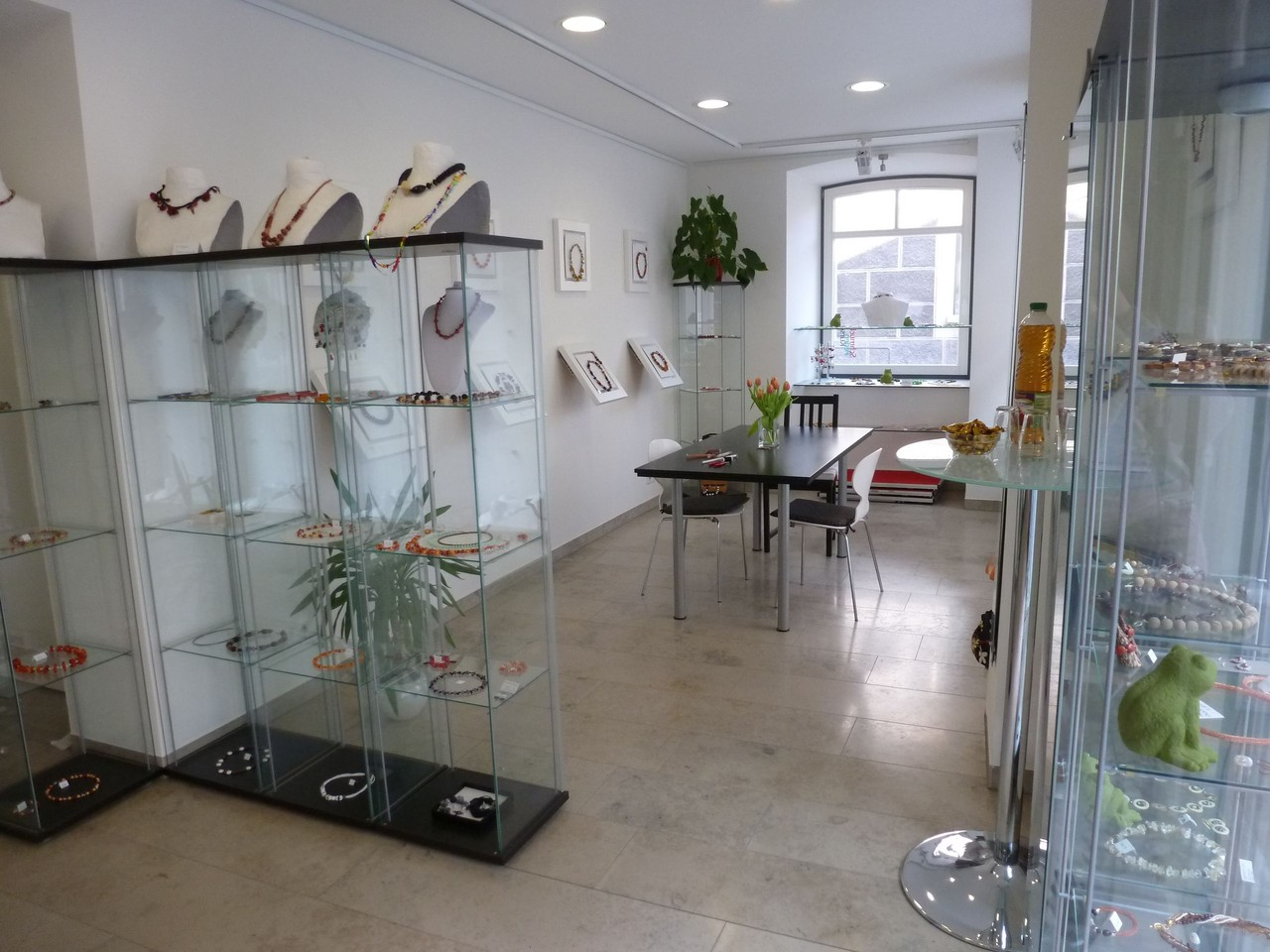 Kursbereich im showroom