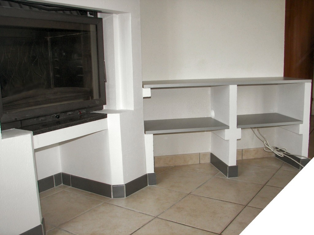 Installation des étagères