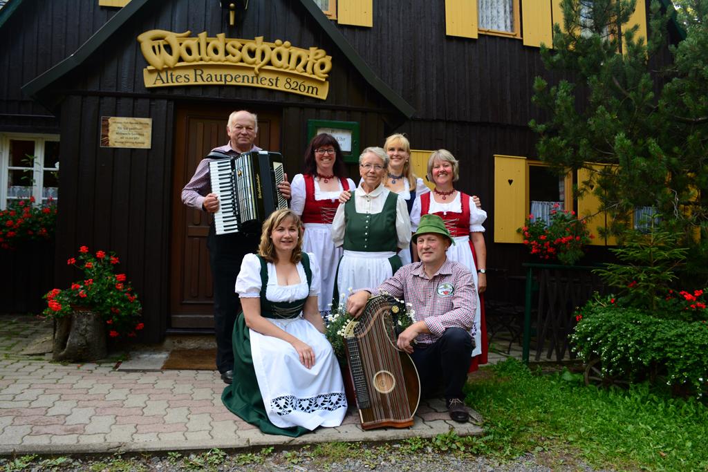 Sommerfest in der Waldschänke Altenberg