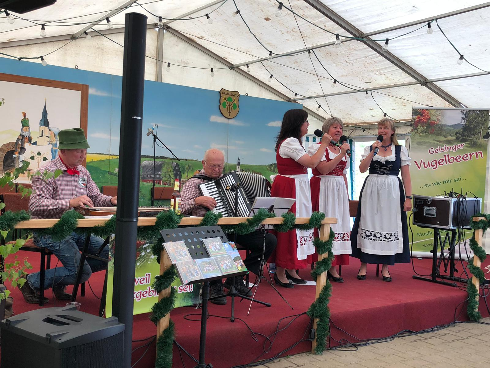 Gemeindefest Clausnitz