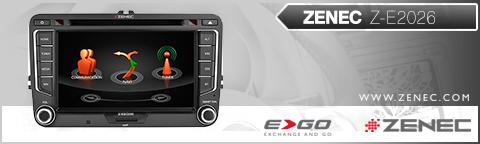 Zenec ZE-NC3131D für Audi A3