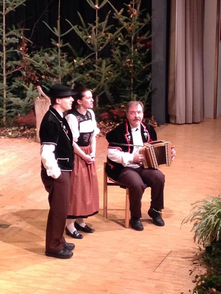 Duett M. Gerber - M. Frei, Begleitung Ueli Kaufmann