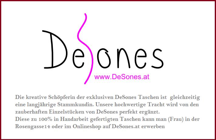 DeSones - die Tasche zum Dirndl