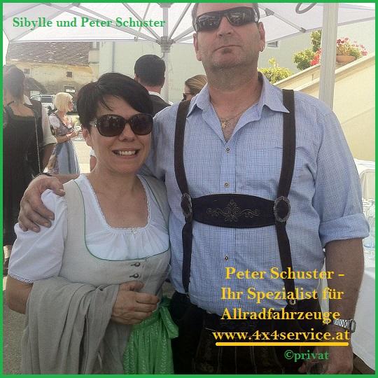 Peter und Sibylle Schuster von 4x4service.at