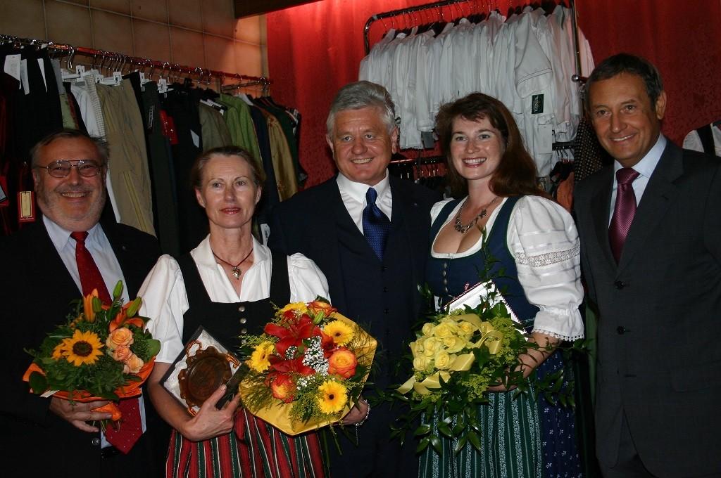 Eröffnung in Reichenau mit Herrn Bgm. Ledolter