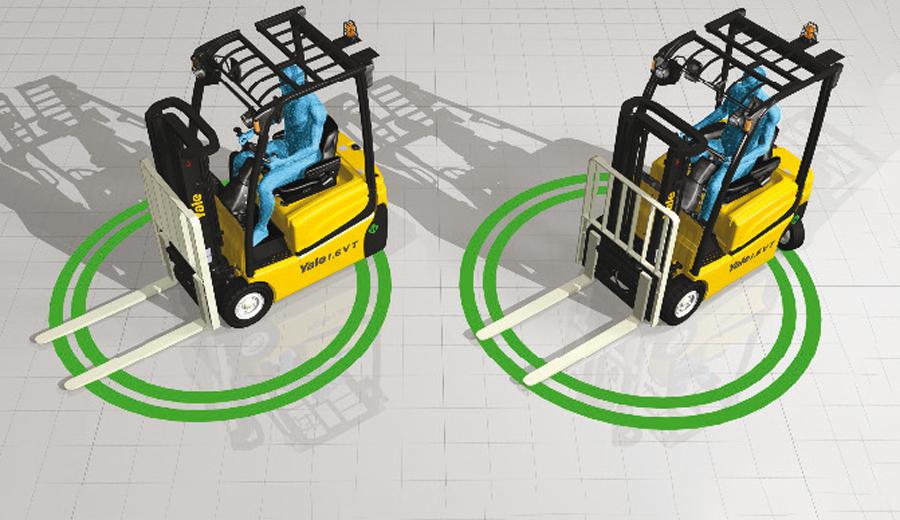 Sistemi anti collisioni per carrelli elevatori: come migliorano la sicurezza