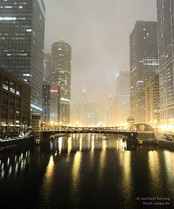 Schneesturm in Chicago