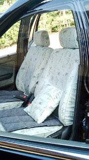 オーダーメイド カーシートカバー 製作事例 アコードワゴン 横浜コットンハリウッド